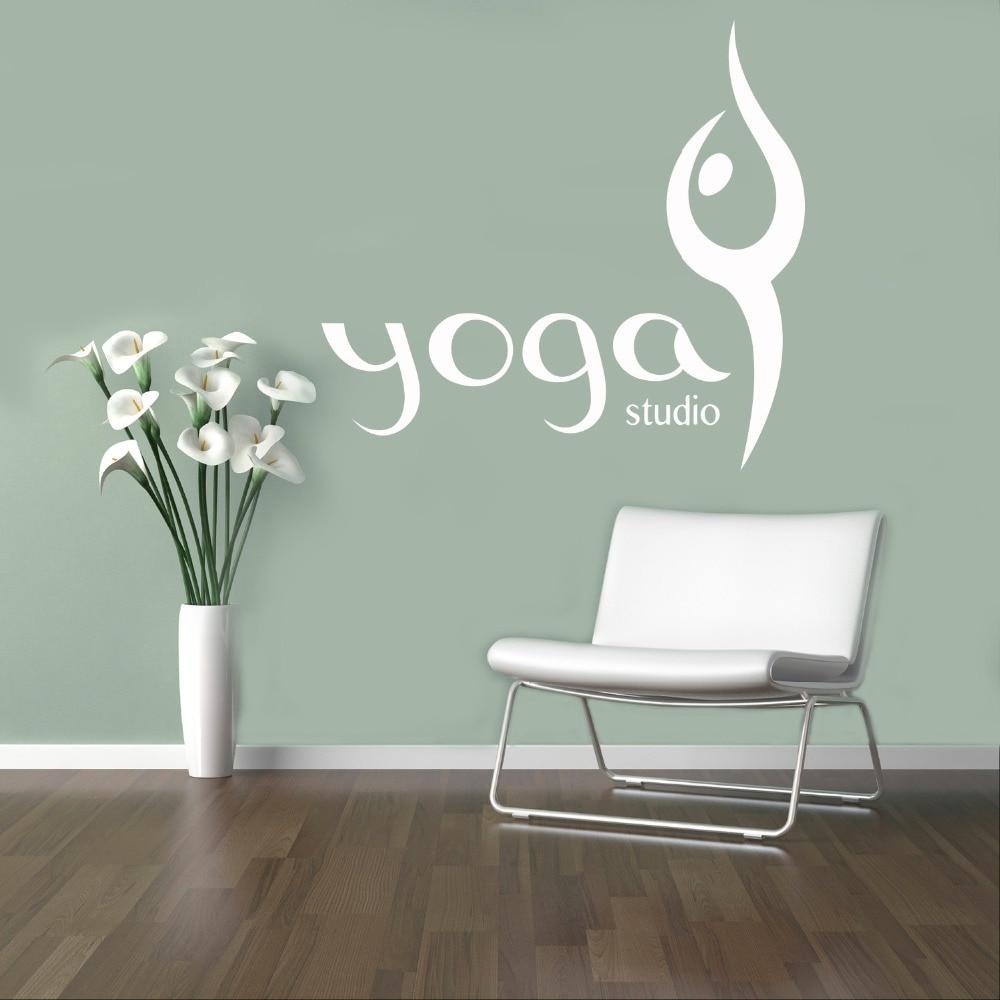 Yoyoyu Wall Decal Art Design Yoga Wall Stickers Home Interior Accessories Window Logo Yoga Studio Wall Decals Modern Design Jm48 Wall Decals Yoga Wall Stickersdesigner Wall Stickers Aliexpress