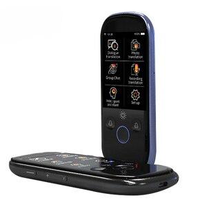 Image 4 - Boeleo K1 פרו בו זמנית קול מתורגמן 2.4 אינץ WIFI 500MP תמונה תרגום רב שפה נייד חכם קול מתורגמן