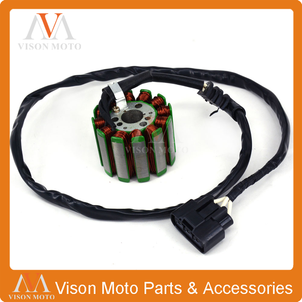 Motorcycle Generator Magneto Stator Coil For YAMAHA YZF-R1 YZFR1 YZF R1 2004 2005 2006 2007 2008 04 05 06 07 08 motorcycle steering damper stabilizer with mounting bracket adapter set for yamaha yzf r1 yzfr1 yzf r1 1999 2005