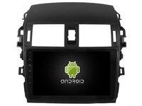 Otojeta android6.0 Автомобильный GPS Navi dvd плеер для Toyota Corolla 2008 2013 Авторадио Мультимедиа 4 г Wi Fi радио BT 2 DIN стерео