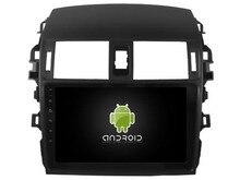 otojeta android6.0 car gps navi car dvd player for Toyota Corolla 2008-2013 autoradio multimedia 4g WiFi radio BT 2 din stereo