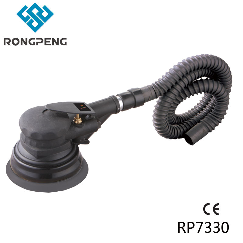 RONGPENG HEAVY DUTY 6 150MM AIR SELF VACUUMING D/A SANDER PROFESSIONAL PNEUMATIC SANDER TOOL RP7330 professional 6 inch air pneumatic sander