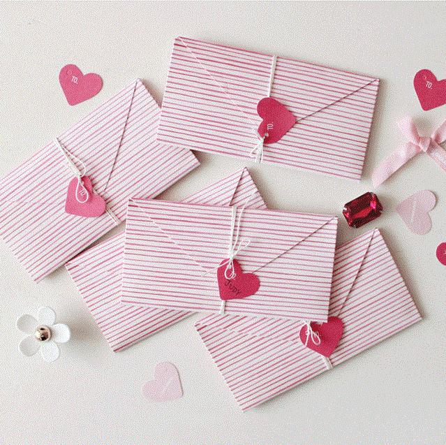 New Arrival 16pcs Mini Writing Letter Envelope Send Love Valentine