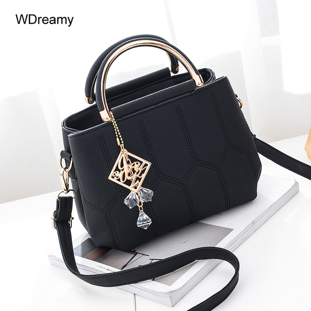 Wdreamy New Style 2018 Women Bag Fashion Hand Bag High Quality Girl