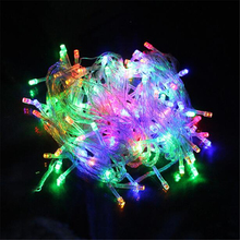 20m 9 Color AC110V/220V Led String Light 200 Leds Wedding Partying Xmas Christmas Tree Decoration Lights