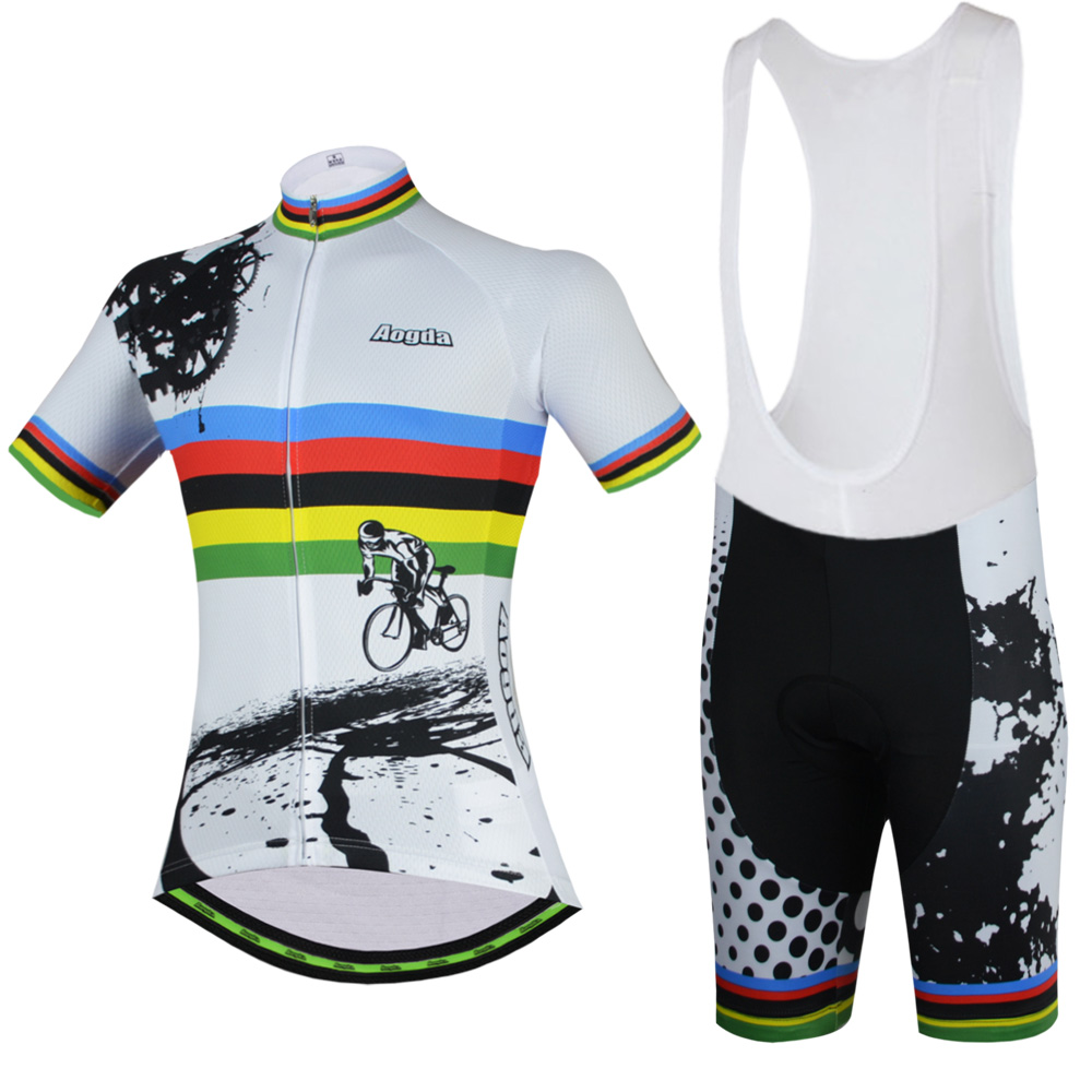 Aogda Mens Cycling Jerseys 2017 Roupas Ropa Ciclismo Hombre MTB Maillot Cycling/Summer Road Bike Wear Clothes Cycliste Equipe