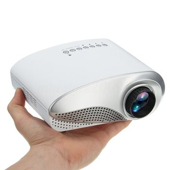 3D Full HD 1080P Mini Projector LED Multimedia Home Theater USB VGA Multi-interface Input HDMI TV AV Portable Projector