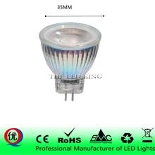 Ультра яркий светодиодный светильник MR11 COB светодиодные лампы GU4 лампы с регулируемой яркостью AC DC 12 В 110 В 220 В Точечный светильник mr11 Светодиоды стеклянный корпус