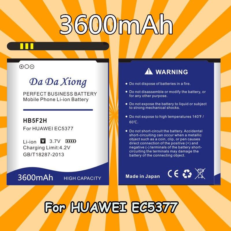 High Quality Bateria Hb5f2h Battery For Huawei E5336 E5375 Ec5377 E5373 E5330 4g Lte Wifi Router Battery 5f2h Cellphones & Telecommunications Mobile Phone Batteries