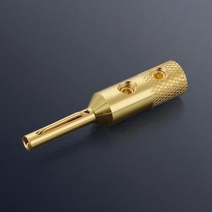 Image 3 - Viborg 4 pcs VB401G De Áudio De Alta qualidade de Cobre Puro Banhado A Ouro Banana Plug para Speaker Cable