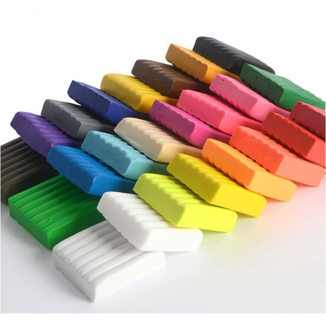 Factory Outlet Soft Clay 24 Colors 20 Grams Carton Set Color Clay Children  Teaching Training DIY