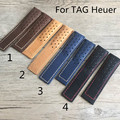 20mm 22mm 24mm Genuine Leather Watch Strap Watchband For TAG With Heuer Logo Without Buckle Clasp