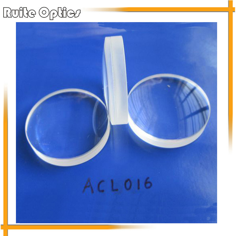 1PC Focal Length 86mm Optical Glass Doublet Optics Element Plano Convex Achromatic Glass Lens Imaging Lenses