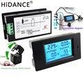 Фотопараметры напряжения 80 ~ 260 В/А, мощность, энергия, Аналоговый амперметр, ватт, амперы, вольтметр, ЖК-монитор