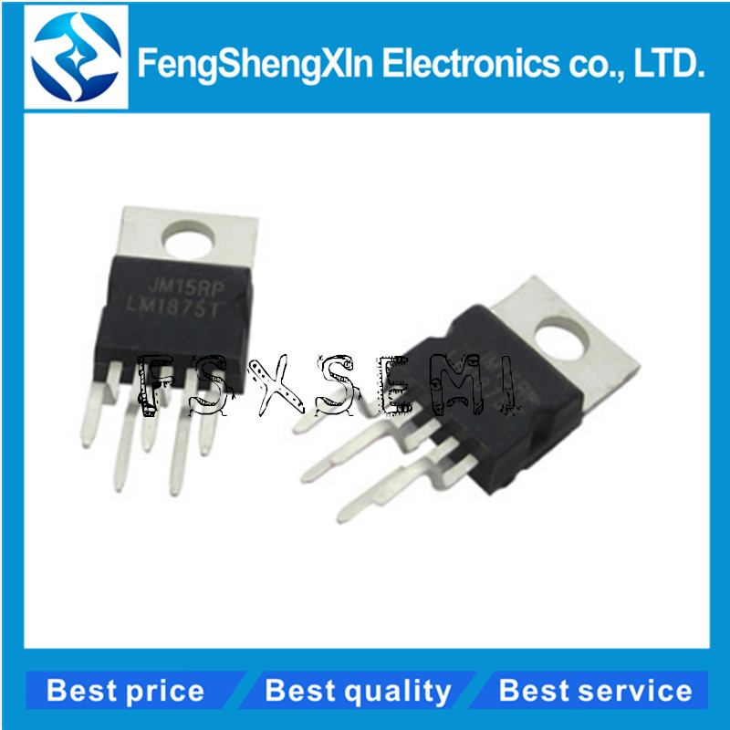 10pcs/lot <font><b>LM1875T</b></font> <font><b>LM1875</b></font> Audio Power Amplifier IC TO220-5 image