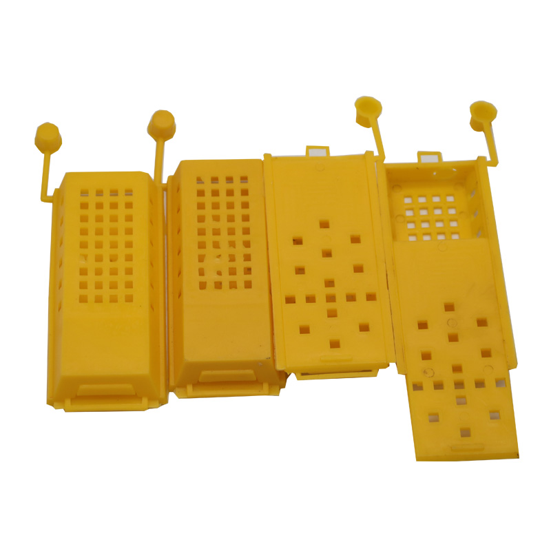100pcs Beekeeping Equipment Tools Beekeeper Apiculture Professional Transport Plastic Bee Cages Box for Bees Queen Bee Isolation in Beekeeping Tools from Home Garden