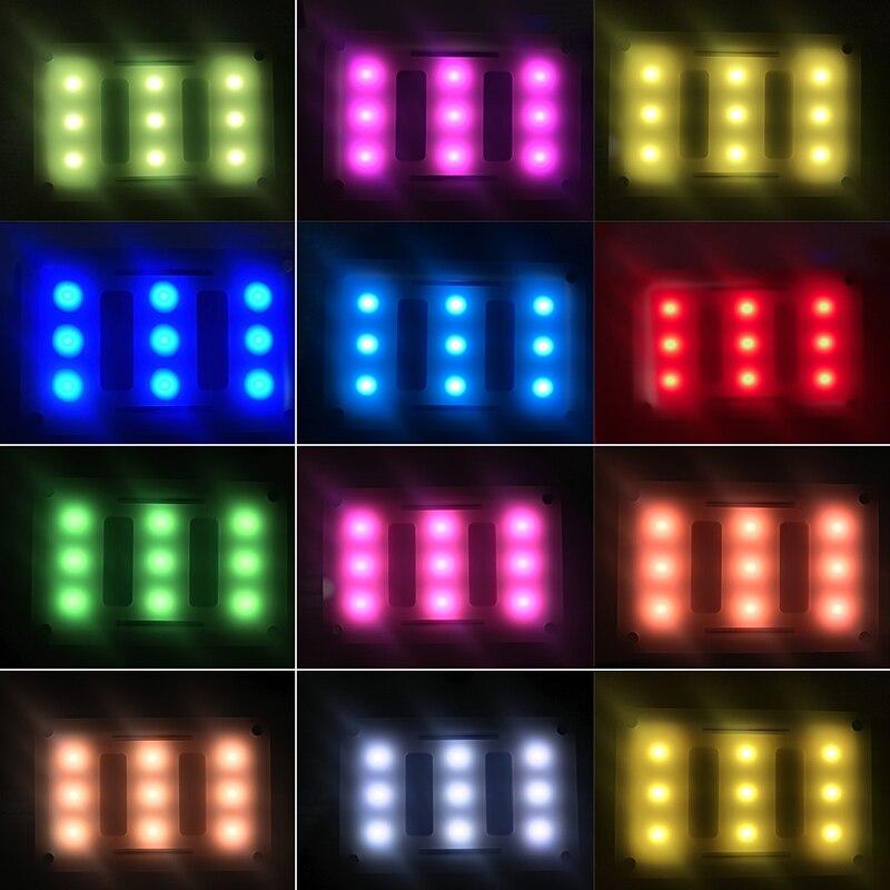 Aputure AL-M9 poche LED vidéo lumière sur caméra Studio lumière Rechargeable Photo lumière CRI/TLCI 95 pour la réalisation de films de mariage Canon - 5