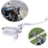 Universal Motorcycle 1 Polishing Front Brake Master Cylinder For Honda Steed 400 shadow VT600 VT750