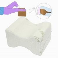 Memory Foam Knee Leg Pillow Bed Cushion Wedge Pressure Relief Sleep Support Aid