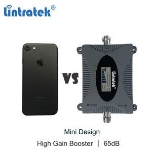 Image 3 - Lintratek 3G amplificateur cellulaire 2100MHz répéteur de Signal de téléphone portable amplificateur de Communication de données Internet 2100 WCDMA écran LCD dd