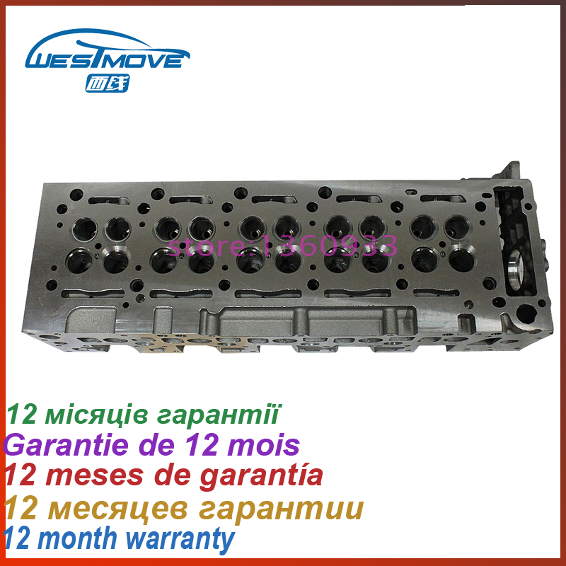 Головка блока цилиндров для Dodge Sprinter Jeep Grand Cherokee TD 2685CC 2,7 CRD 20V 02 Двигатель: EX9 665,921 ENF 05171546AA 050800025AA
