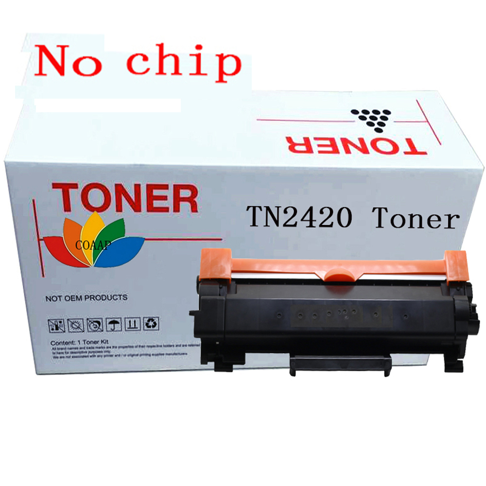 No Chip TN2420 Compatible Black Toner Cartridge For Brother HL-L2350DW HL-L2310D HL-L2357DW MFC-L2710DN MFC-L2710DW MFC-L2730DW