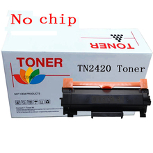 No chip TN2420 Compatible Black toner cartridge for Brother HL-L2350DW HL-L2310D HL-L2357DW MFC-L2710DN MFC-L2710DW MFC-L2730DW 1x black for brother tn103 toner cartridge for brother tn1035 hl 1118 1510 1518 mfc 1818 mfc 1813
