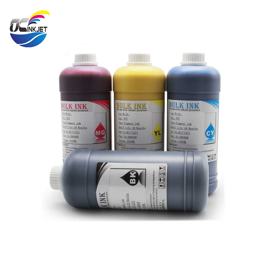 OCINKJET עבור HP 973 973XL מילוי פיגמנט דיו 4X500 ml מחסנית תואם עבור HP Pagewide 352DW 452DW 552DW 377 477 577DW