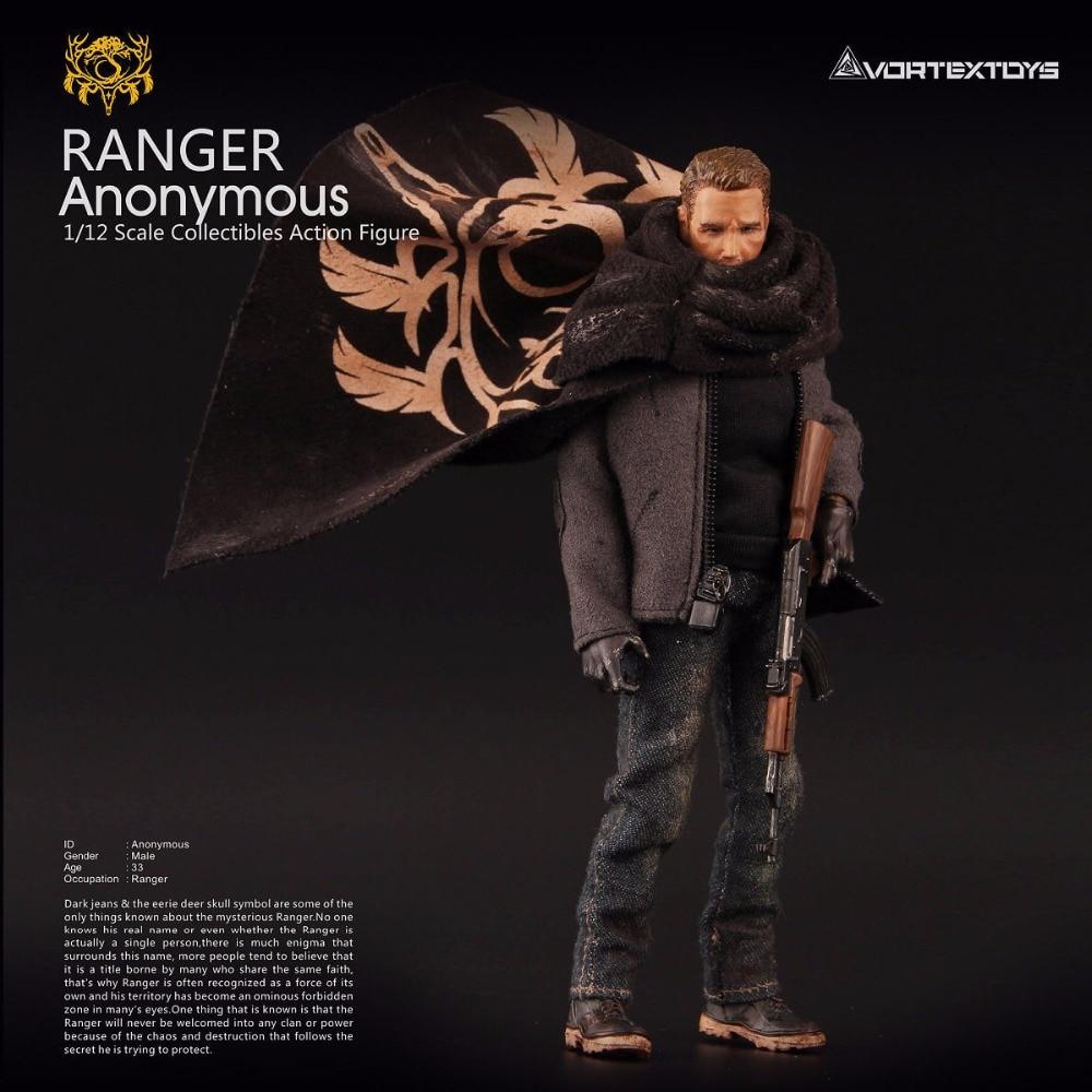 Vortex Toys YEW Series Ranger Anonymous 1 12 Action Figure