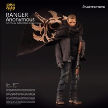 Vortex Oyuncaklar PORSUK Serisi Ranger Anonim 1/12 Aksiyon Figürü