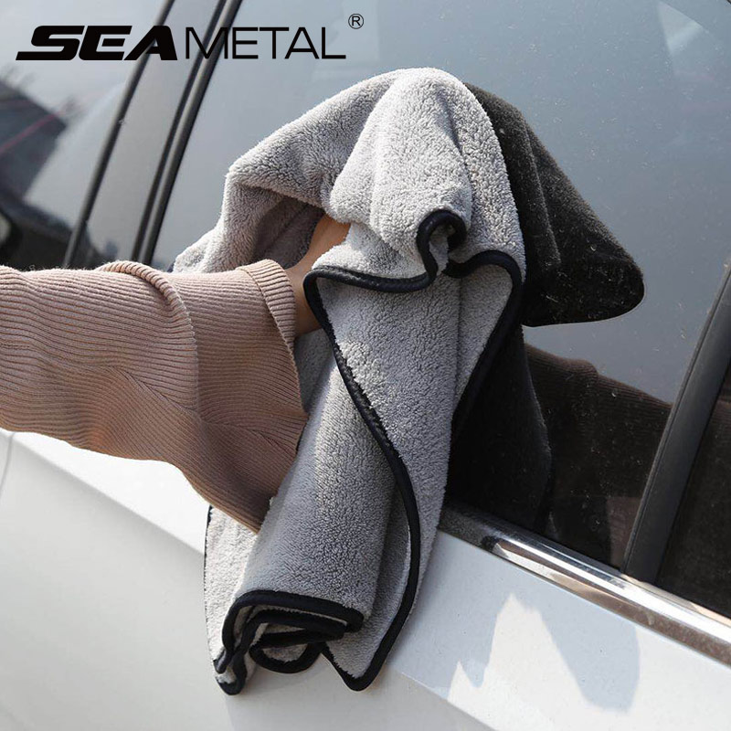 Car Wash Accessories Super Absorbency Car Cleaning Cloth Premium Microfiber Auto Towel Ultra Size Towel Drying The Whole Vehicle-in Sponges, Cloths & Brushes from Automobiles & Motorcycles
