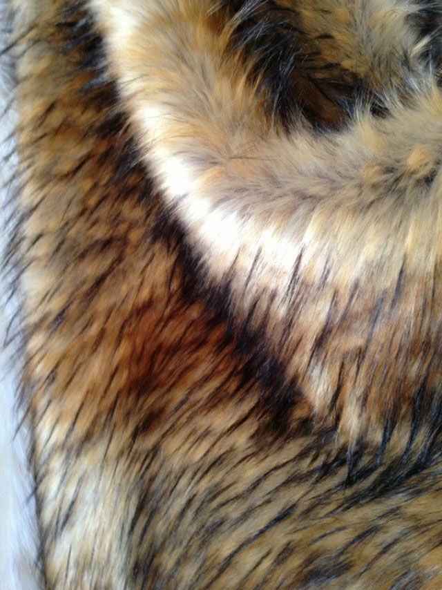 Temperate High-grade Faux Fur,imitation Raccoon Plush Fabric,clothing Shoes Cap Wool Collar Fabric,80cm*20cm/pcs Orders Are Welcome. Arts,crafts & Sewing
