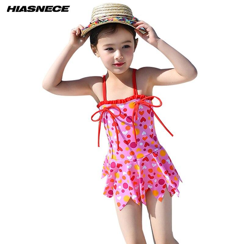 √HIASNECE 2018 del traje de baño para niñas traje de baño vestido ...