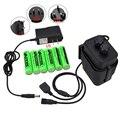 Внешний источник питания для велосипеда  6 шт.  18650 батарей с водонепроницаемым аккумулятором  чехол для аккумулятора  коробка для хранения  ...