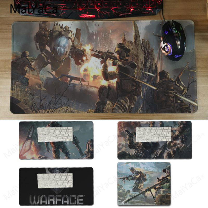 Yinuoda Warface Gamer Speed Mice Retail Small Rubber Mousepad Size 25X29CM and 30x60cm Comfort small Mouse Mat ...
