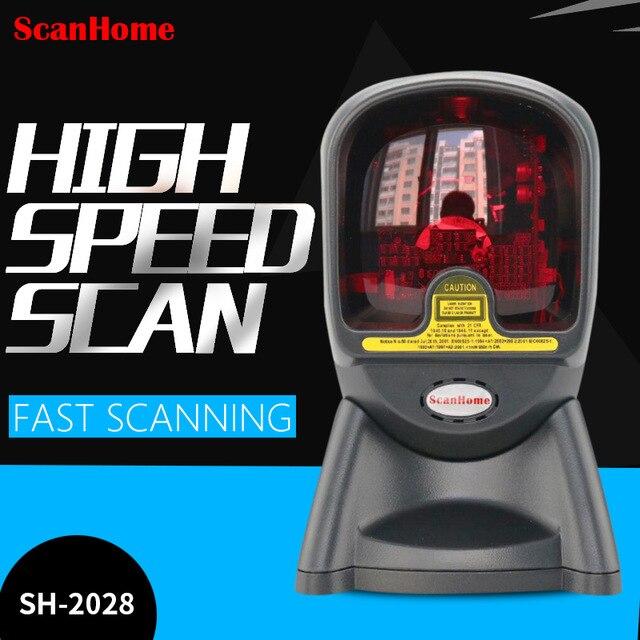 ScanHome SH-2028 Scanner Scanner 24 lignes Laser plate-forme de balayage Code de balayage supermarché Scanner Code pistolet