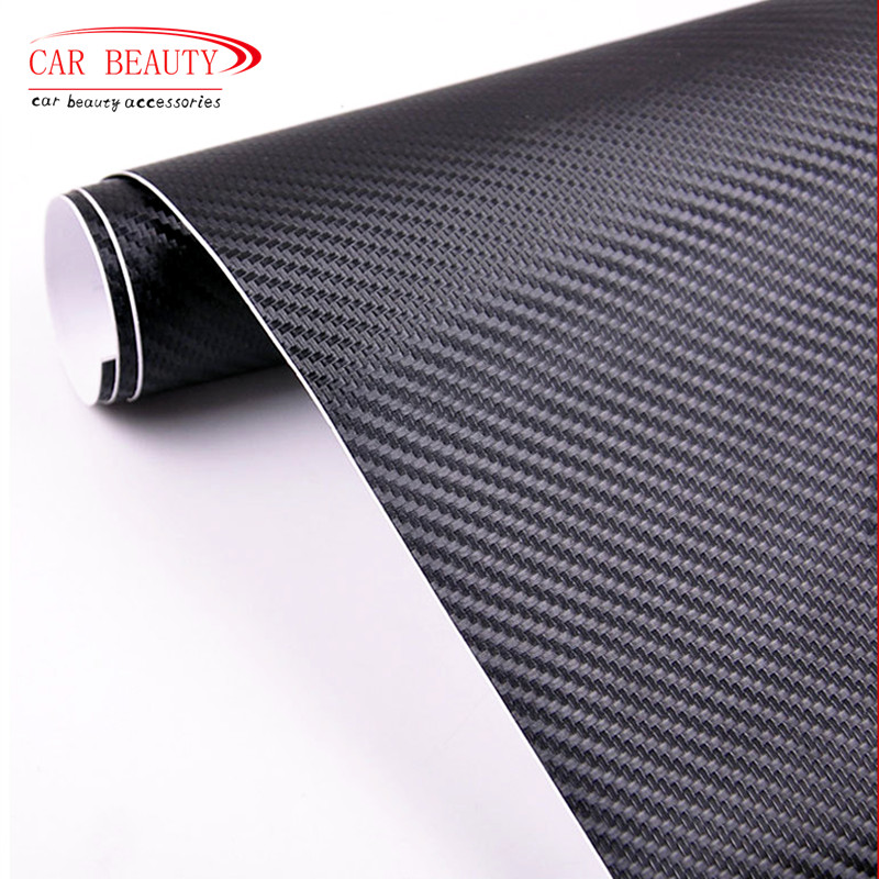 New 2016 Car Styling 50*200cm DIY Waterproof Car Stickers 3D Car Carbon Fiber Vinyl Many Color Available Decorative Film Paper
