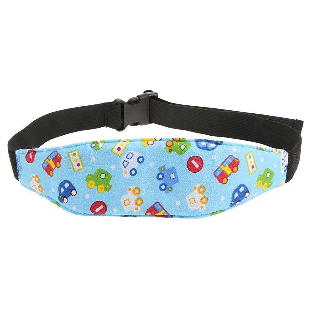 ABWE Best Sale 1Pcs Fixing Band Baby Kid Head Support Holder Car Print Sleeping Belt Car Seat Sleep Nap Holder Belt Baby Strol