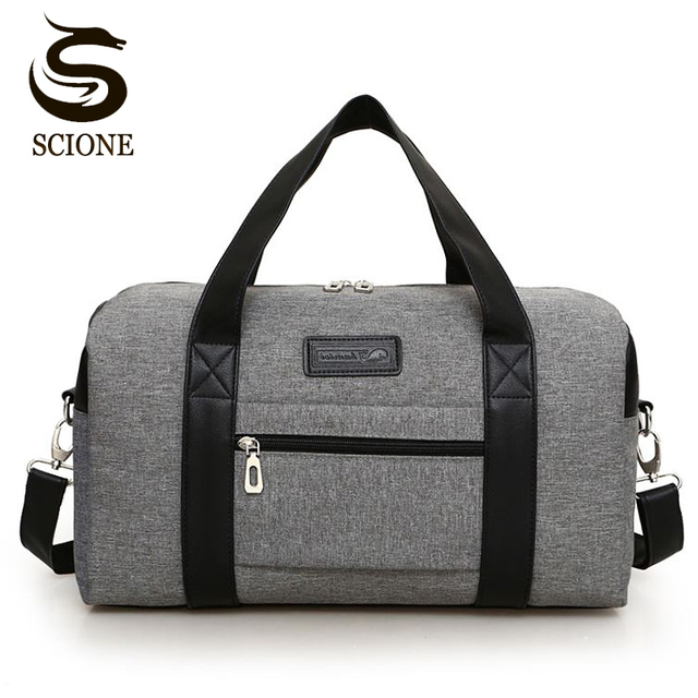 53e349bd130b Multifunction Travel Bag New Arrival Square Package Waterproof Handbag Male  Travel Duffel Bags Fashion Duffle Tote Drop Shipping