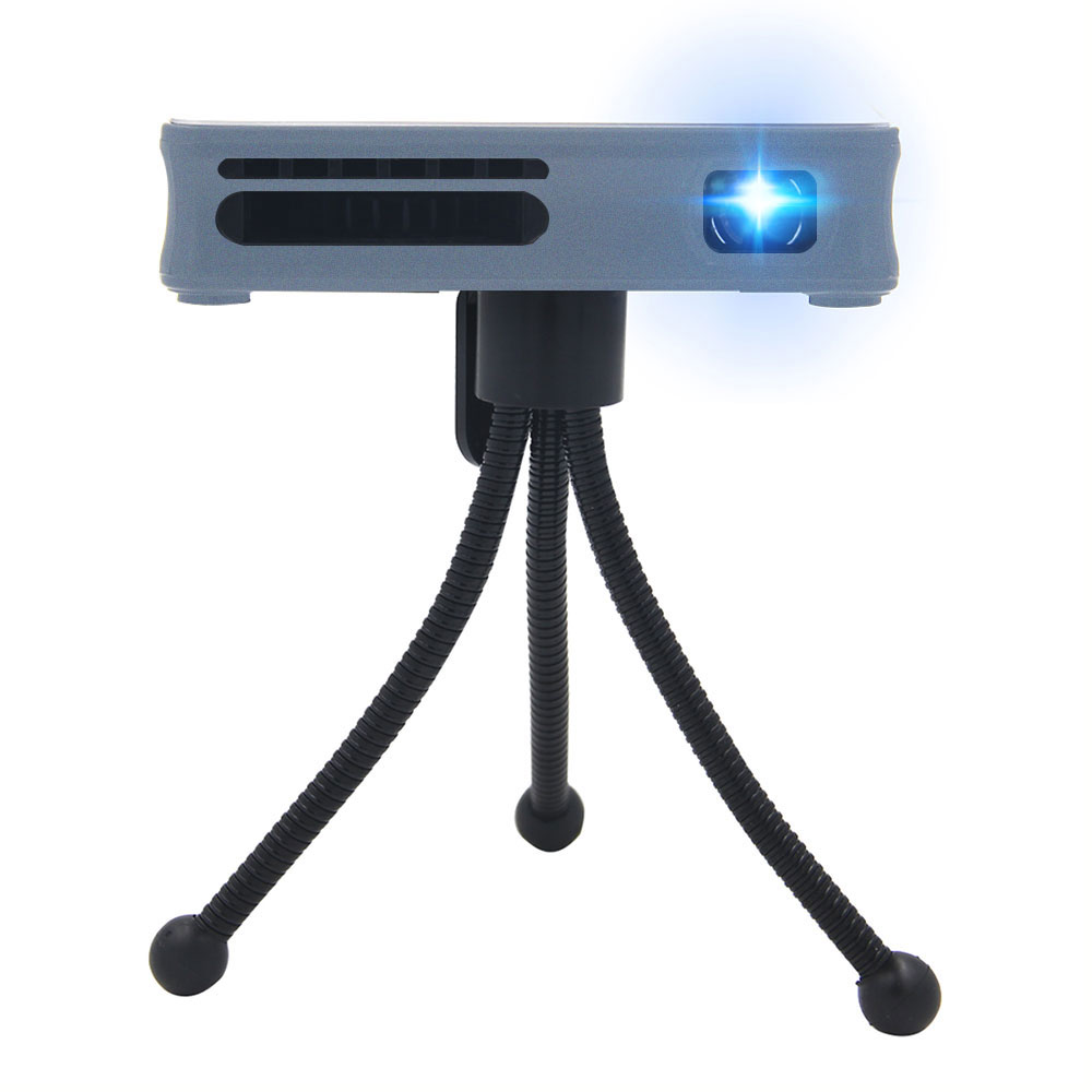 Mini DLP Projector Android 4.4WiFi Smartphone PC Bluetooth 4.0 Support AirPlay Miracast HD WIFI Micro 1080p P8 Projector