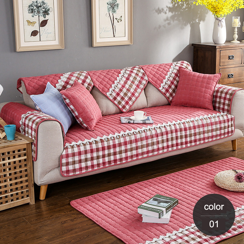 Pastoral Printed Sofa Cover Flexible Stretch Sofa Covers Big ...