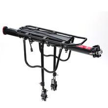 Bastidores de Aleación de aluminio Ciclismo Bicicleta MTB Bicicleta de Montaña Bicicleta de Carretera Bastidor Trasero Portaequipajes Instalar Componentes