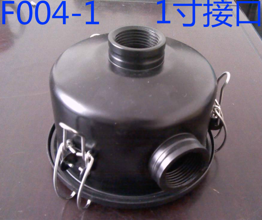 F004-1 vacuum pump intake filter assembly interface 1 inch inner wire, dust filter for vacuum fan f007 vacuum pump intake air filter assembly fan air filter assembly interface 3 inch wire height 258mm outside diameter 222mm