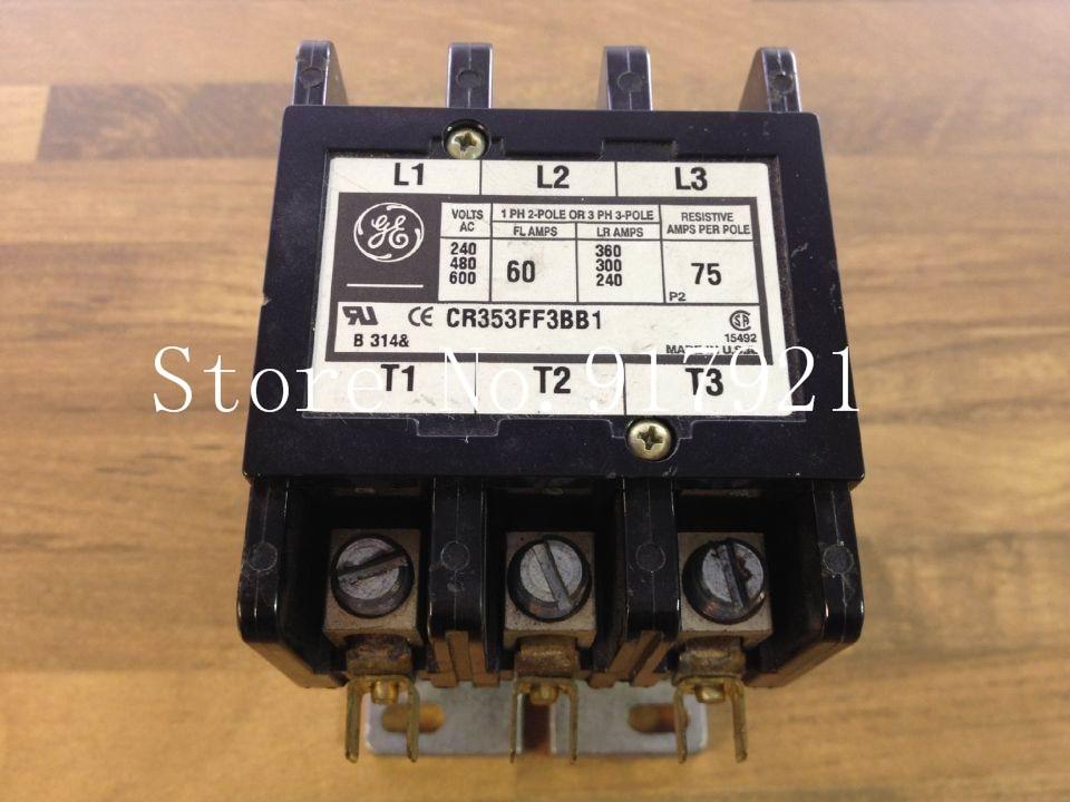 [ZOB] GE CR353FF3BB1 220V 60A 55-B38B America general contactor to ensure genuine