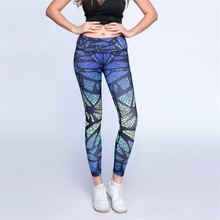 3D Print Yoga Pants Sport Tights Women Running Leggings Sportswear Quick Dry New Arrival