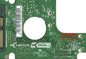 HDD PCB circuit board 2060-771672-004 REV A for WD 2.5 SATA hard drive repair data recovery