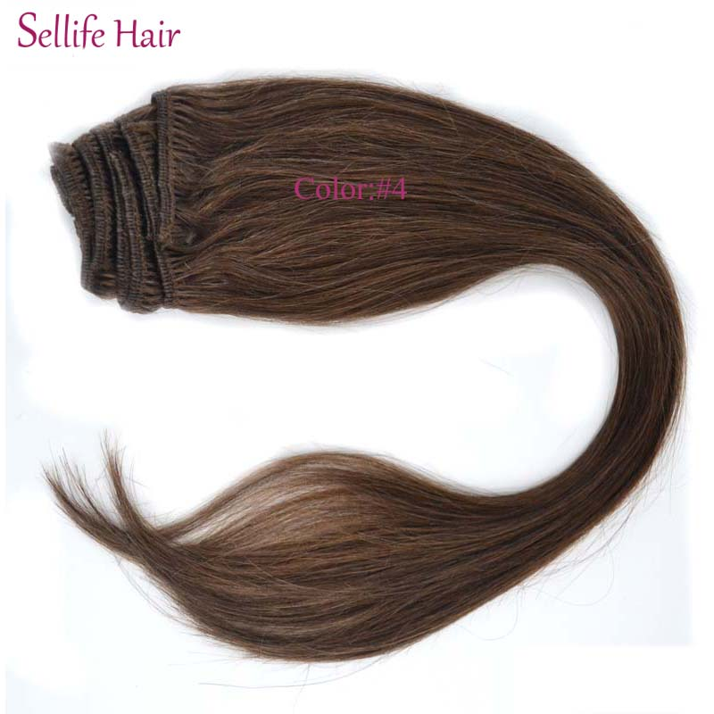 Free Shipping Clip In Hair Extensions Long 202224inches 8pcs 100g
