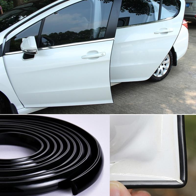 Rubber Car Door Edge Protector Seal Sound Insulation Sealing Strip Trim For Nissan Qashqai J10 J11 X-Trail t32 Tiida Murano Note цена