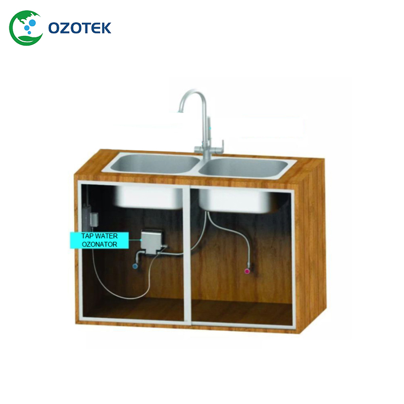 OZOTEK New 2018  Ozone generators TWo003 fruit vegetable 12VDC  Ozonated water 0.2-1.0 PPM  free shipping