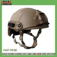 Тактический Открытый Охота Airsoft Стрельба NIJ IIIA БЫСТРО Пуленепробиваемый Шлем основной Баллистических Шлем камуфляж пуленепробиваемые шлем